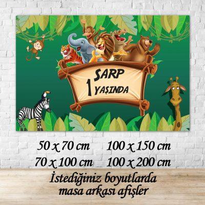 safari afiş