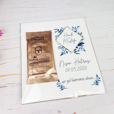 Nişan Hatırası Türk Kahvesi