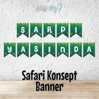 Safari Konsept Banner