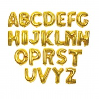 Gold Harf Folyo Balon