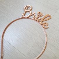 Bride Taç Rose Gold